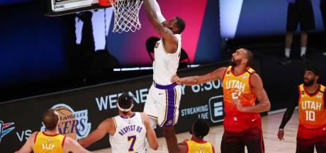 Les Lakers valident la première place à l'Ouest