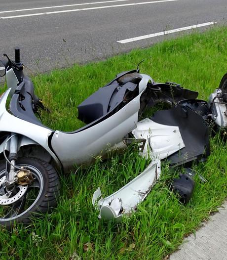 Scooterrijder gewond na ongeluk in Lieshout
