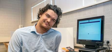 Dove leerling (17) hoopt in Oss te slagen voor zijn vmbo-diploma