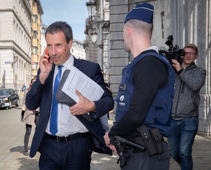 Le ministre de la Défense, Philippe Goffin