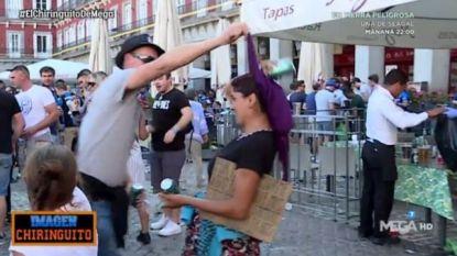 Brugse 'fans' spotten in Madrid met bedelende vrouwen en misdragen zich, één van supporters blijkt politie-inspecteur