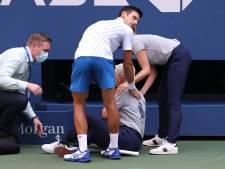 """Le message de Djokovic à ses fans: """"La juge de ligne a également besoin de soutien"""""""