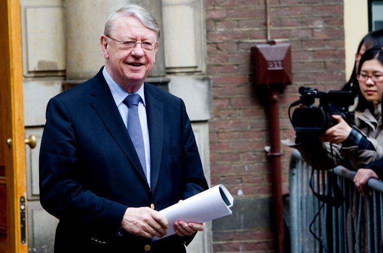 Hans Hillen, in 2012 minister van Defensie.  Beeld Robin Utrecht / ANP