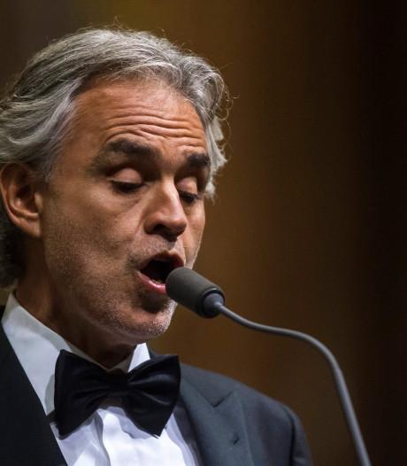 Andrea Bocelli volgend jaar naar Amsterdam
