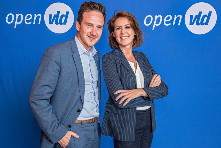 Francesco Vanderjeugd & Emily Talpe in Open Huis.