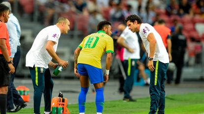 Football Talk. Neymar valt uit met dijblessure: match tegen Club in gevaar? - UEFA onderzoekt militair saluut Turks elftal