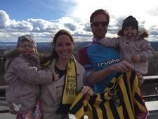 Vitesse-fan komt speciaal voor bekerfinale over uit Noorwegen