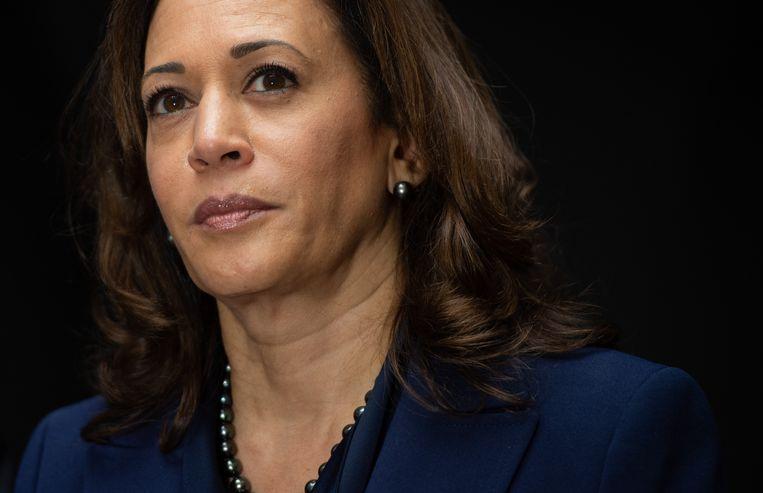 Amerikaans senator Kamala Harris wil Amerikaans president worden.
