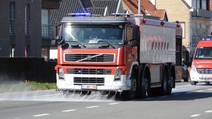 Brandweer moet kilometerslang oliespoor opruimen