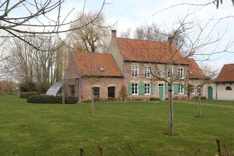 De Blauwpoorthoeve in Westouter.