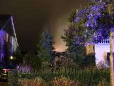 Tuinhuisje in Holten brandt volledig uit