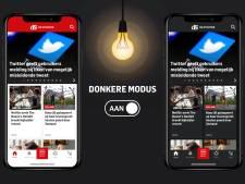 Nieuw in onze app: donkere modus