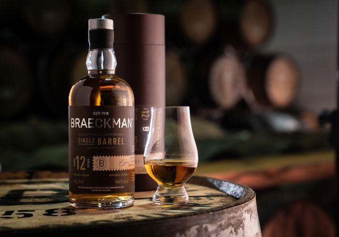 De 12 jaar oude Braeckman Single Grain Whisky is verkozen tot de. beste van Europa.
