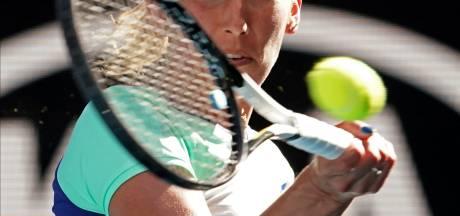 Elise Mertens file en 8e de finale en battant l'Américaine Catherine Bellis