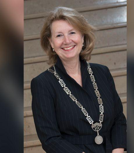 Pauline Bouvy-Koene zwaait digitaal af als burgemeester van Voorschoten