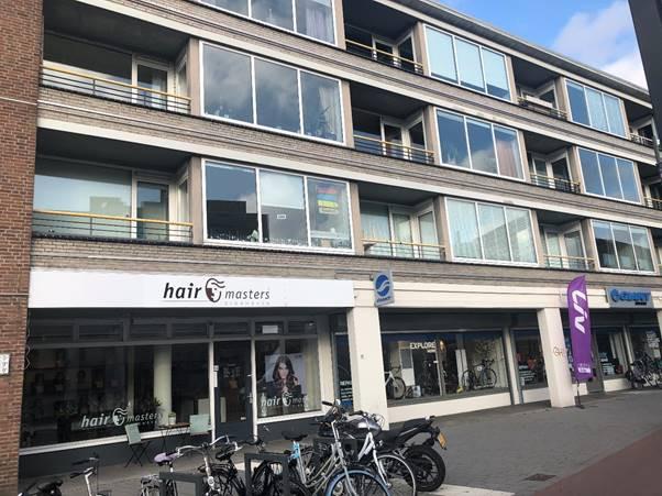 Pand Geldropseweg 9, met winkels en appartementen, in Eindhoven, is aangekocht door Camelot Europe.