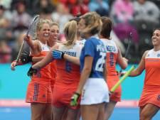 Hockeyvrouwen maken gehakt van Italië en grijpen groepswinst