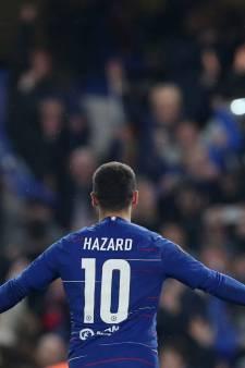 """Hazard sur son avenir: """"Si c'est mon dernier match à Stamford Brigde, on ne pouvait pas rêver mieux"""""""