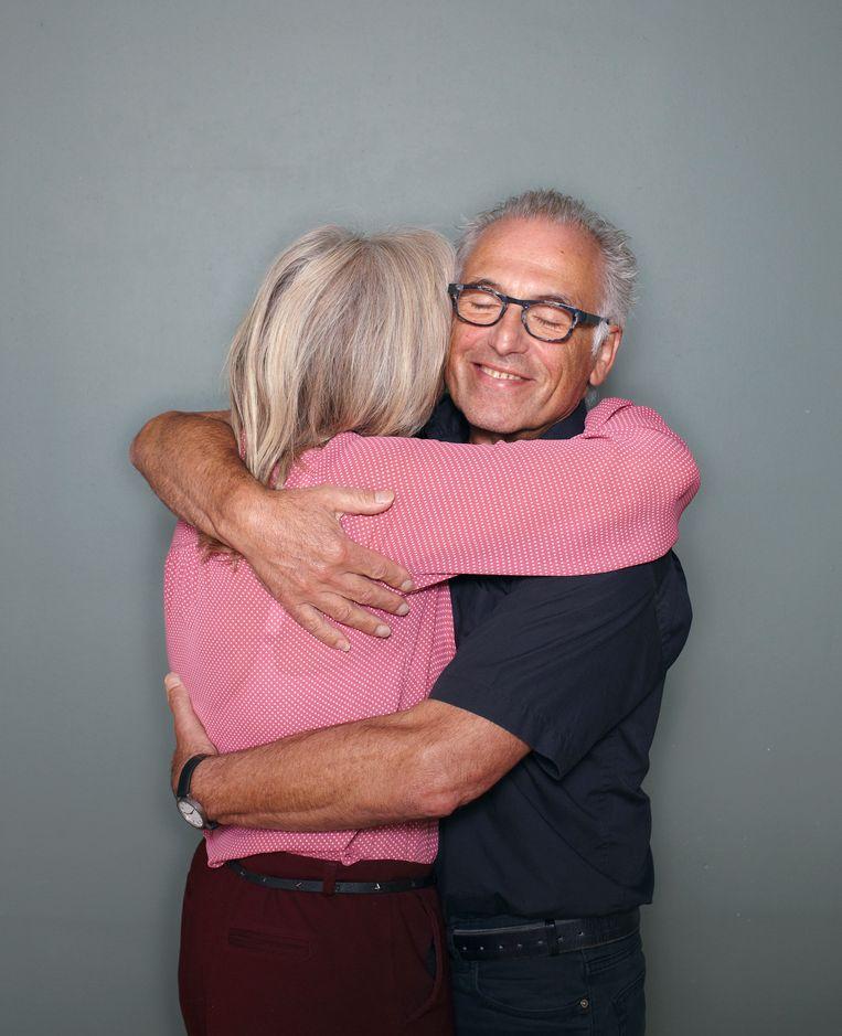 Philip Kroonenberg (met zijn vrouw Jellie). Beeld Daniel Cohen