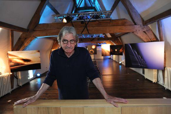 Kunstenaar Chris Vanden Broeke stelt zijn werken ook dit weekend nog voor in De Camme in Perk.
