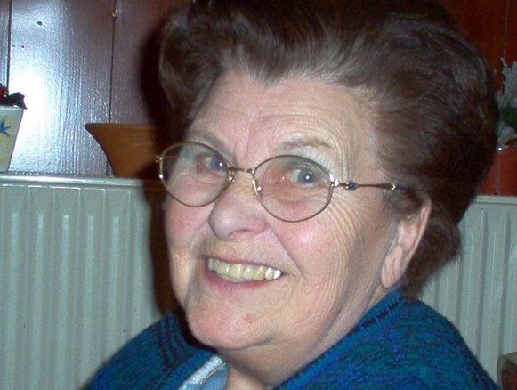Juliette Walgraeve, weduwe van Karel Poma