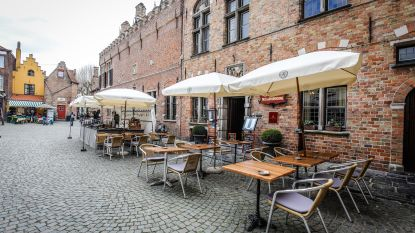 """SOS Brugge wil minder terrassen in binnenstad:""""Huidig reglement maakt van Brugge een pretpark"""""""