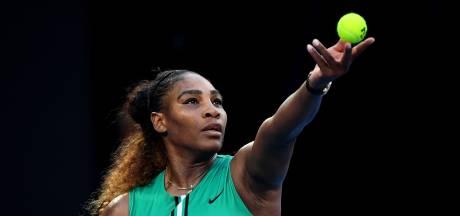 Serena knikkert nummer 1 Halep uit Melbourne