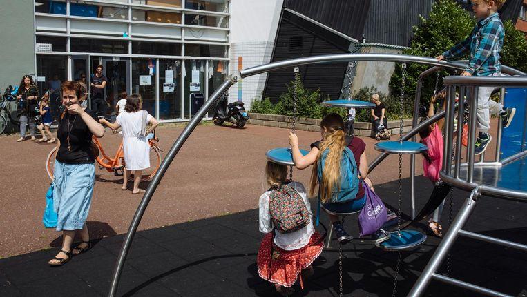 8ste Montessori in Zeeburg Beeld Marc Driessen