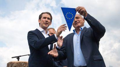 """Oostenrijk komende half jaar EU-voorzitter onder het motto """"een Europa dat beschermt"""""""