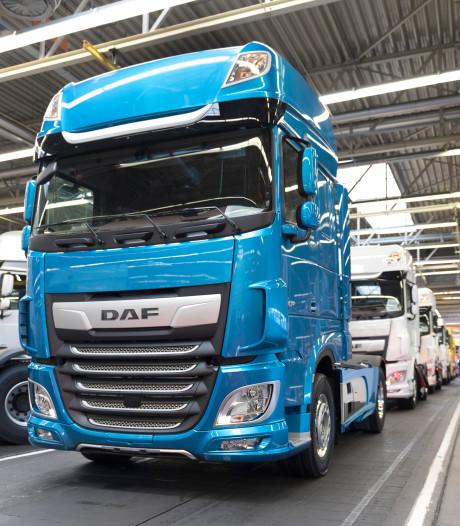 DAF moet productie in Eindoven opnieuw verlagen vanwege economische onzekerheid