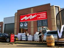 Wine-drive-thru in Breda per direct verboden