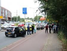 Verkeerschaos na botsing fietsers Hildebrandplein