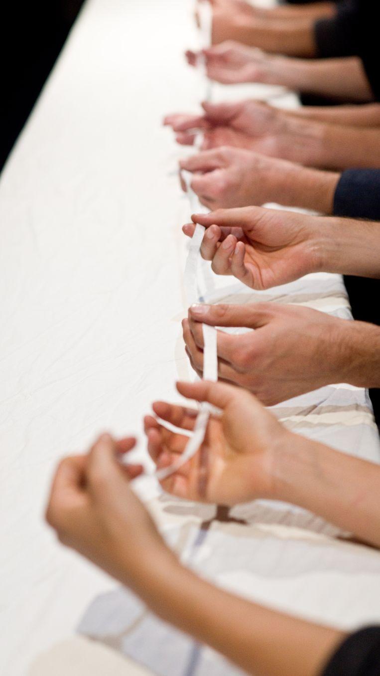 'In Many Hands'. Foto: Dirk Rose Beeld RV