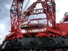 Mammoet levert 'crashkranen' aan circuit Zandvoort