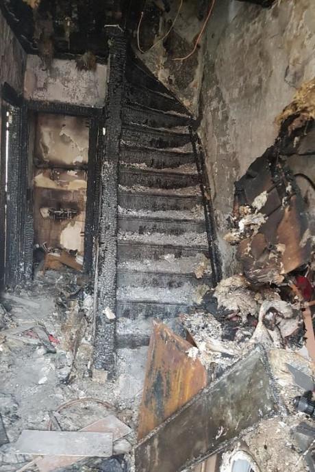 Dordtenaar koopt uitgebrand huis: 'We schrikken hier niet van'