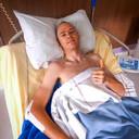 Christopher Froome in het ziekenhuis.