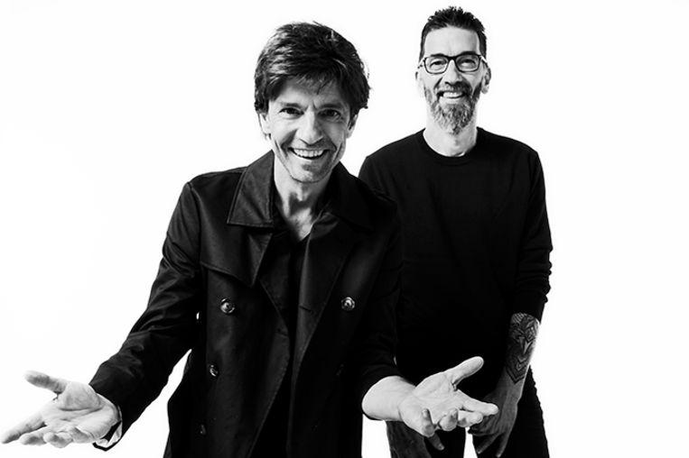 Koen en Kris Wauters van Clouseau signeren zaterdag hun nieuwste album in het Waasland Shopping Center.