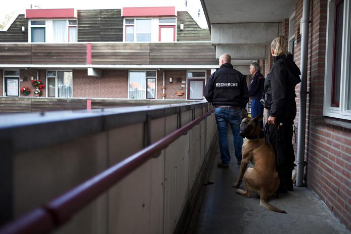 Inval aan de Zonnebrink in Winterswijk.