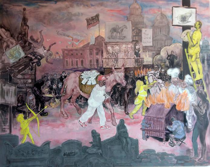 Werk van de Eindhovense kunstenaar Stijn Peeters.