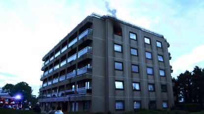 56-jarige bewoonster stak brand in eigen flat mogelijk zélf aan