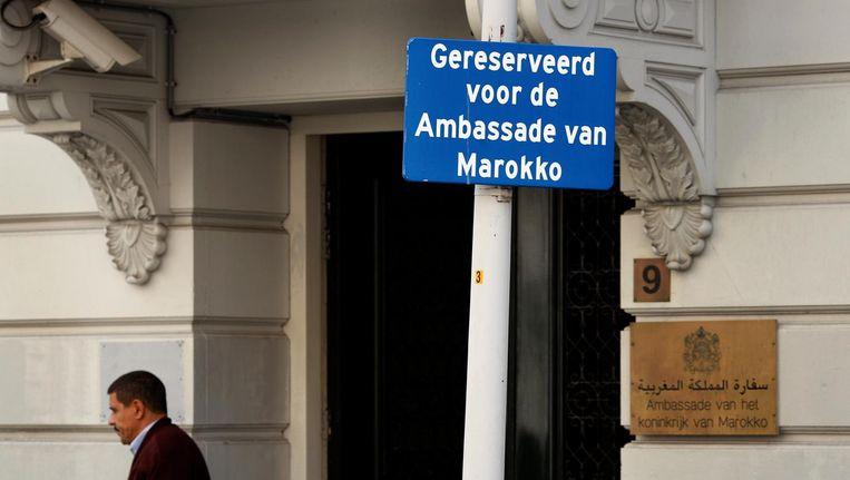 De Marokkaanse ambassade in Den Haag Beeld anp