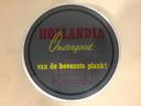 Een reclame voor ondergoed van Hollandia Tricotage.