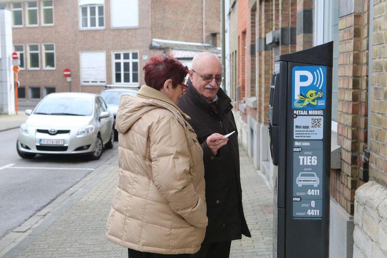 Parkeren in Tienen is nog steeds te duur volgens velen.
