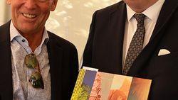 Guy Reynebeau strikt prins Laurent voor Speakers Corner