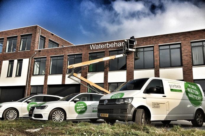 De medewerkers van de Oldenzaalse vestiging van Grünbeck Waterbehandeling zijn sindskort gehuisvest in een bedrijfsverzamelgebouw op de Jufferbeek-Zuid.