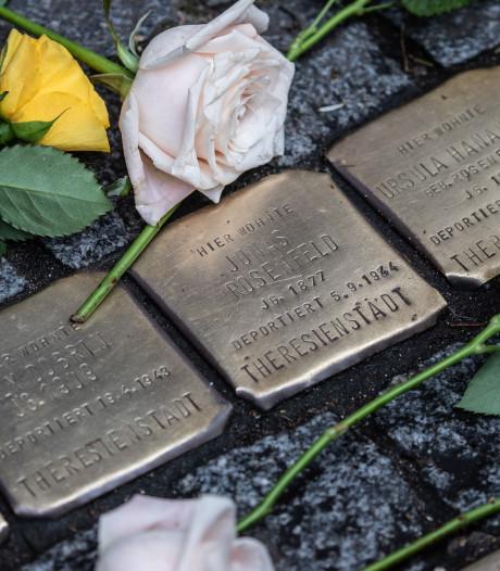 Stolpersteine als eerbetoon voor weggevoerde joodse Woerdenaren