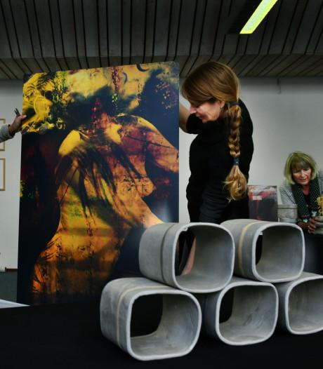 Eerste expositie in het vierde pand van Werkplek