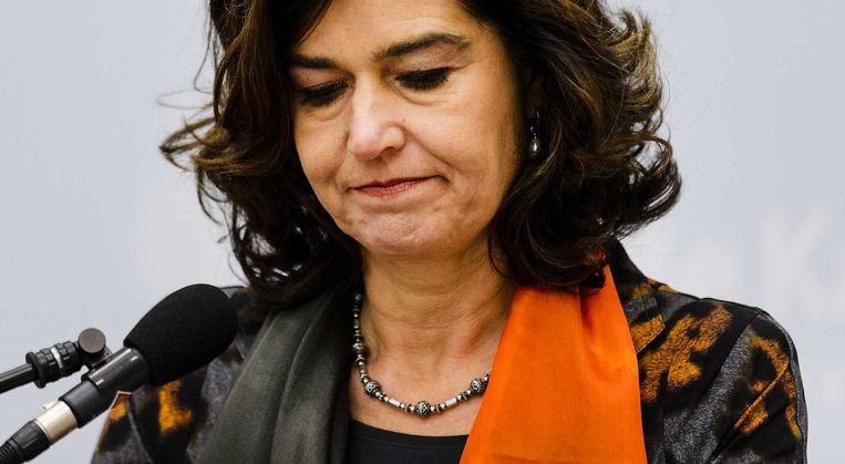 VVD'er Anouchka van Miltenburg legde op 12 december haar functie als Kamervoorzitter neer. Beeld anp