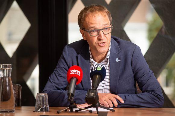 UGent-rector Rik Van de Walle. (Archieffoto)