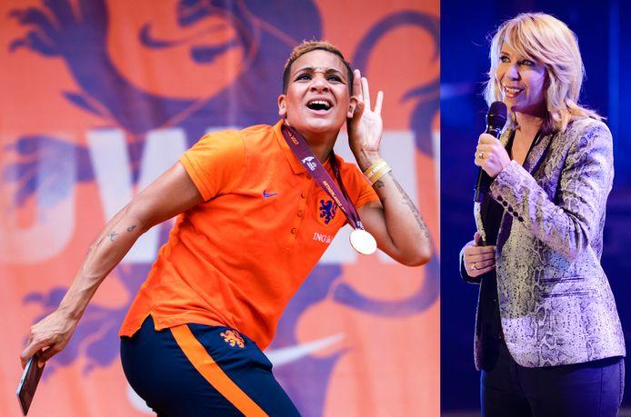 Leeuwin Shanice van de Sanden en Claudia de Breij.